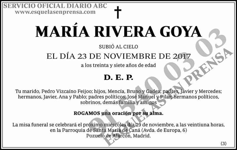 María Rivera Goya